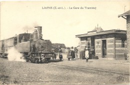 LAONS . GARE DU TRAMWAY