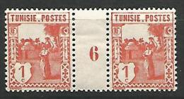 TUNISIE   N� 120  MILLESIME 6 / NEUF** TTB