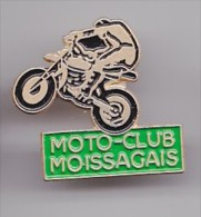 Pin´s Moto Club Moissagais  De Moissac Dpt 82 Réf 2231 - Steden
