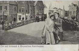 EXPO BRUSSEL 1910 - On Est Extasié à Bruxelles Kermesse - Tentoonstellingen