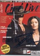 REVUE CINÉ LIVE  N° 17 Octobre 1998  En Très Bon état Avec Son CD Et Ses Affiches - Cinéma