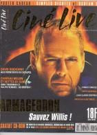 REVUE CINÉ LIVE  N° 15 Juillet Aout 1998  En Très Bon état Avec Son CD Et Ses Affiches - Cinéma