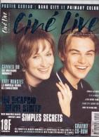 REVUE CINÉ LIVE  N° 14 Juin  1998  En Très Bon état Avec Son CD Et Son Poster - Cinéma