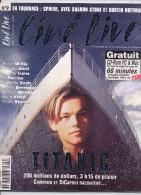REVUE CINÉ LIVE  N° 9  Janvier 1998 En Très Bon état Avec Son CD - Cinéma