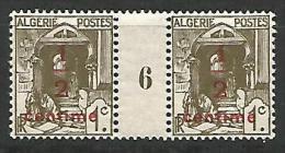 ALGERIE   N� 57 MILLESIME 6 / NEUF** LUXE