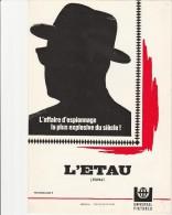 FILM L'ETAU -MANUEL D'EXPLOITATION -1969 - Publicidad