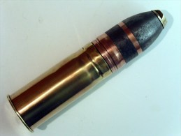 Obus de 37mm explosif anglais fabrication VSM - Inerte -  WW1