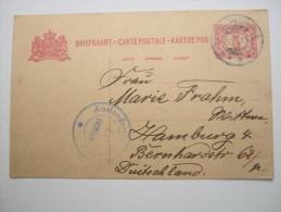 1915, Zensurkarte Nach Hamburg - Nederlands-Indië