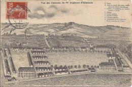 BAR LE  DUC   VUE DES CASERNES DU 94em REGIMENT D´INFANTERIE - Bar Le Duc