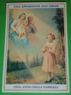 Anno 1944 Apparizione MADONNA Delle GHIAIE Torchio Bonate Sopra,Bergamo/Veggente ADELAIDE RONCALLI Cartolina NV - Santini