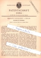 Original Patent - Hermann Schimansky in Berlin , 1888 , Kerzenhalter f�r Christb�ume !!!