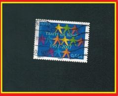 N° 4030 Traité De Rome 1957-2007 Dessiné Par Stéphanie Ghinéa   2007 Timbre De France Oblitéré - Usati