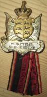 Insigne Veteran Wurtemberg WW1
