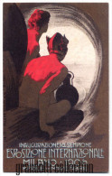 MILANO 1906 ESPOSIZIONE INTERNAZIONALE SEMPIONE CARTOLINA RIPRODUZIONE - Expositions