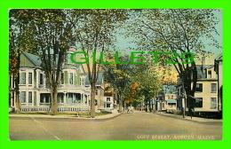 AUBURN, ME - GOFF STREET - ANIMATED - PUB. BY H. L. TARR & CO - - Auburn