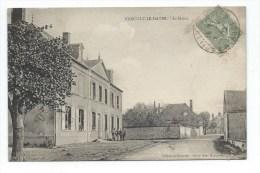 Village De MARCILLY (AUBE) Le Bourg, La Mairie - Marcilly
