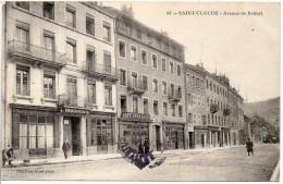 39 SAINT CLAUDE - Avenue De Belfort - Commerces - Saint Claude