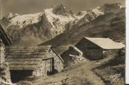 05 Cpsm Environs De La Grave En Montant Au Plateau D Emparis - Autres Communes