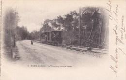 Paris-plage. Le Tramway Dans La Forêt. - Autres Communes