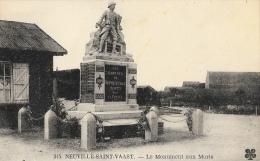 Neuville-Saint-Vaast - Le Monument Aux Morts - Carte MTIL - Monuments Aux Morts