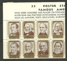 USA Poster Stamps Ca 1940 - Cinderellas
