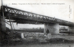 Cpa  BEILLANT (17) - Inauguration du Pont le 30 avril 1905 (S�rie de 10 CPA)