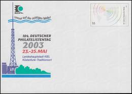 USo 58 Philatelistentag 2003 & Rundfunksender, ** - BRD