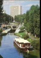 Voitures (Citroën 2CV, ....) - Toulouse (31) : Le Canal Du Midi - Le Biblio-coche D'eau Clémence Isaure - Passenger Cars