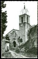 06 - Gréolière, L'Église XIV° - XV° Siecle - France