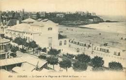 35 - DINARD - Le Casino Et La Plage Vus De L'Hôtel Du Casino - Dinard
