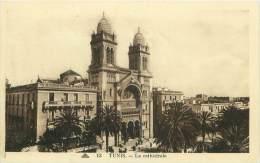 TUNIS - La Cathédrale - Tunisie