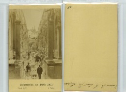 Commune,Phot Q.V, Ruines De La Cour Des Comptes - Anciennes (Av. 1900)