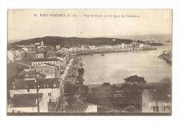 Cp, 66, Port-Vendres, Vue Générale Sur Le Quai Du Commerce - Port Vendres