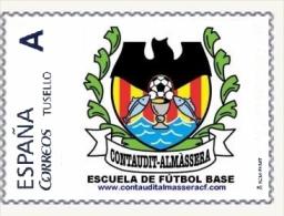 Sello Personalizado De La Escuela De Fútbol Base 'Contaudit-Almàssera' (Almácera, Valencia), Nuevo Diseño - 1931-Hoy: 2ª República - ... Juan Carlos I