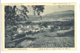 Cp, 39, Port Lesney, L'Hôtel Du Parc Et Le Mont Poupet - Autres Communes