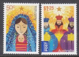 AUSTRALIA, 2009 XMAS 2 MNH - 2000-09 Elizabeth II
