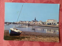 Cpm Saint GILLES Sur VIE , 1059 , Le Port , Au Fond , Le Pont Du Havre De Vie (1.835) - Saint Gilles Croix De Vie