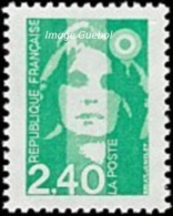 France N° 2820,** Marianne Du Bicentenaire - Briat - Le 2f40 Vert - Nuovi