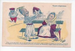 Types Algériens - Signée Assus - N° 3  (18) - Illustrators & Photographers