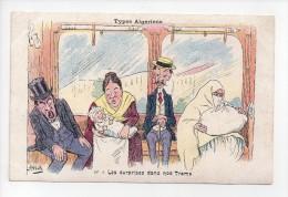 Types Algériens - Signée Assus - N° 1 - Les Surprises Dans Nos Trams  (18) - Illustrators & Photographers