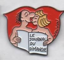 Média Journal , Le Journal Du Dimanche , Pin Up , Wolinski - Medias