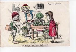 Types Algériens - Signée Assus - Le Marchand De Figues De Barbarie (18) - Illustrators & Photographers