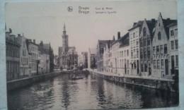 BRUGES  Quai Du Miroir - Belgique