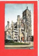 76 DIEPPE Cpsm Eglise Saint Jacques En Travaux Echaffaudage         91 Gaby - Dieppe