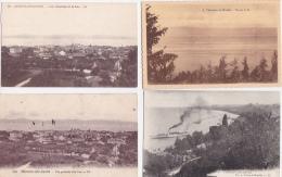 LOT  DE  5   CPA  &  12  CPSM    DE   THONON  LES  BAINS  - Toutes Scanées - Postcards