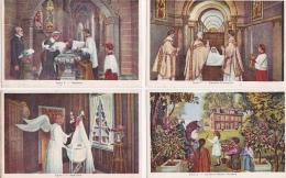 8  CPA  DE LA  VIE  DE  SAINTE THÉRÈSE  DE  LISIEUX - Toutes Scanées - Christentum