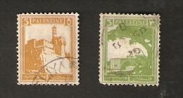 R16-2-4. Palestine Set Of 2 - 1927 - Palestine