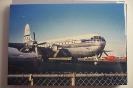 PAN AMERICAN WORLD AIRWAYS  B 377 STRATOCRUISER     N1028V - 1946-....: Moderne