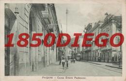 PAGANI - CORSO ETTORE PADOVANO   F/PICCOLO NONVIAGGIATA ANIMATA TRAM - Salerno