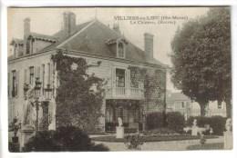 CPA VILLIERS EN LIEU (Haute Marne) - Le Château : Entrée - Autres Communes